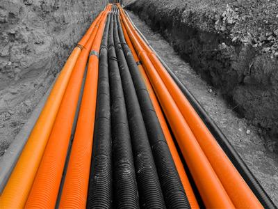 linea subterránea de alta tensión en Cuenca